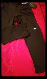 Black nike sweat pants
